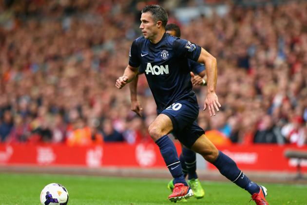 Robin Van Persie Injury: Updates on United Star's Groin, Likely Return Date