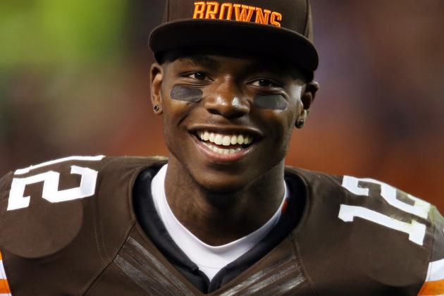 Report: Browns 'Open' to Trading WRs Gordon, Little