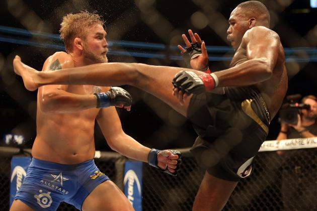 Jones vs Gustafsson: Breaking Down the FightMetric Numbers