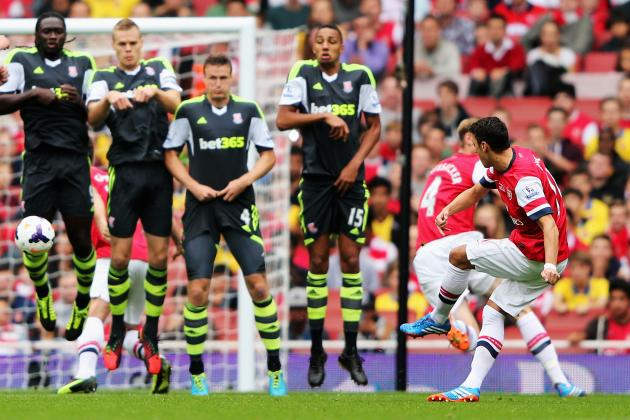 Arsenal Out-Muscle Stoke as Mesut Ozil Shines Again