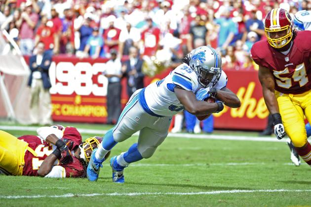 Detroit Lions vs. Washington Redskins: Live Grades and Analysis for Detroit