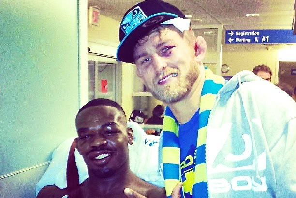 Alexander Gustafsson Posts Hospital Photo with Jon Jones Following UFC 165