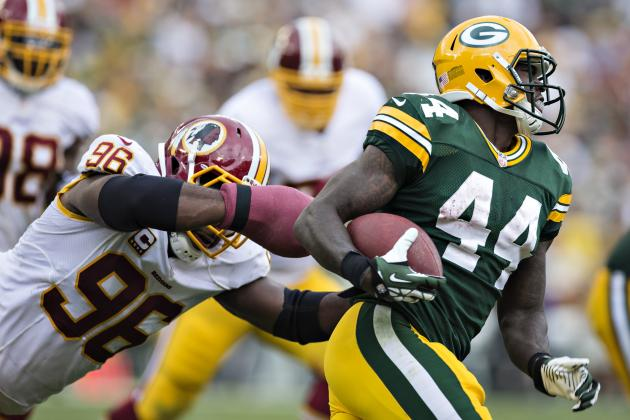 James Starks Injury: Updates on Packers RB's Knee, Likely Return Date