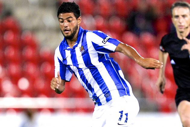 Carlos Vela: Is He the Right Man to Restore Mexico 2014 World Cup Hopes?