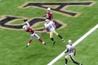 'Honey Badger' Tyrann Mathieu Notches First NFL Interception