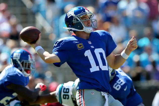 Eli Manning's Updated 2013 Fantasy Outlook After Week 3