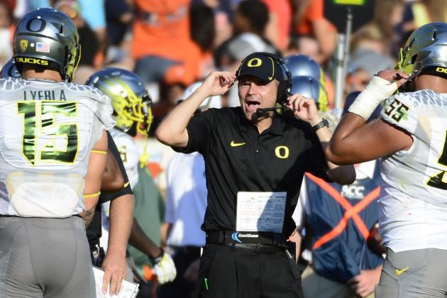 Meet the 4 AP Top 25 Voters Who Believe Oregon Should Be No. 1 over Alabama