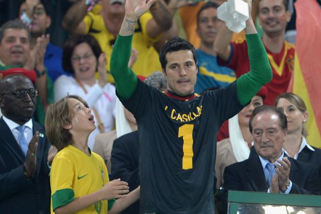 Why Julio Cesar's Injury Is a Blow to Brazil's World Cup Hopes