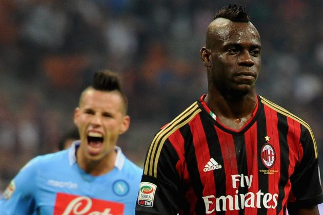 GIF: Mario Balotelli Misses First Penalty of His Career, Had Been 26/26