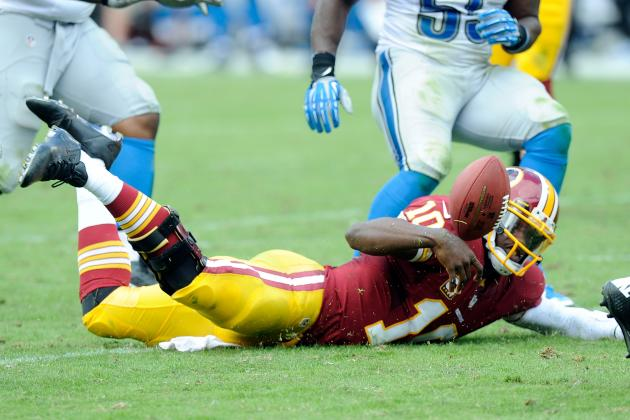 RG3 Bobbles, Lions Rally to Top Redskins 27-20