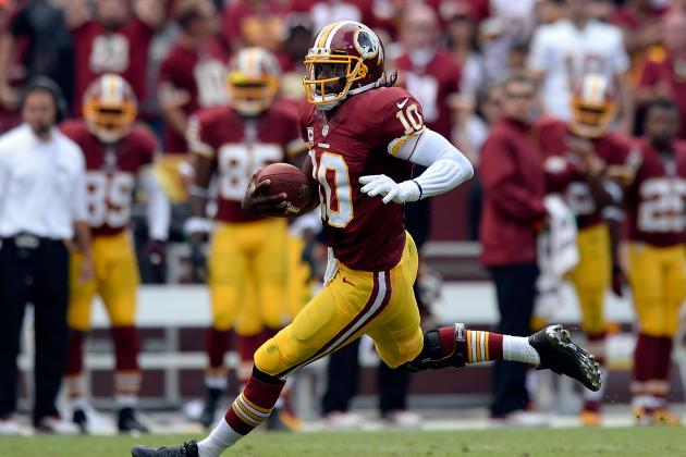 Robert Griffin III Still Doesn't Know How to Slide