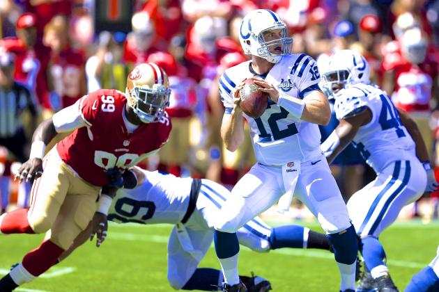 Colts vs. 49ers: Live Score, Highlights and Analysis
