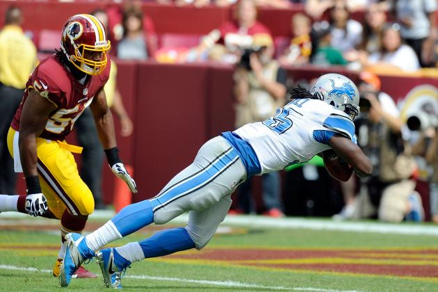 Joique Bell Propels Lions to Victory over Redskins