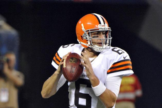 Browns, Third-String QB Keep Vikes Winless