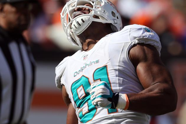 Cameron Wake Questionable to Return (knee)