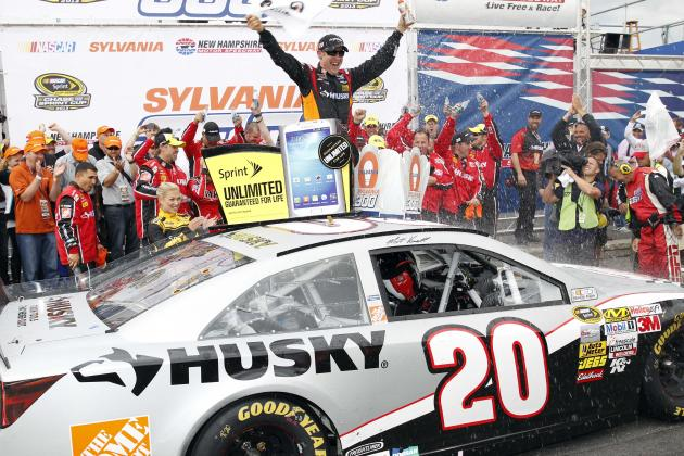 Sylvania 300 2013 Results: Leaders, Updated Sprint Cup Standings and Reaction