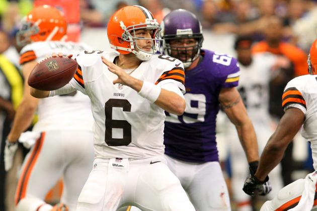 Will Brian Hoyer Keep Brandon Weeden on the Bench for the Rest of the Year?
