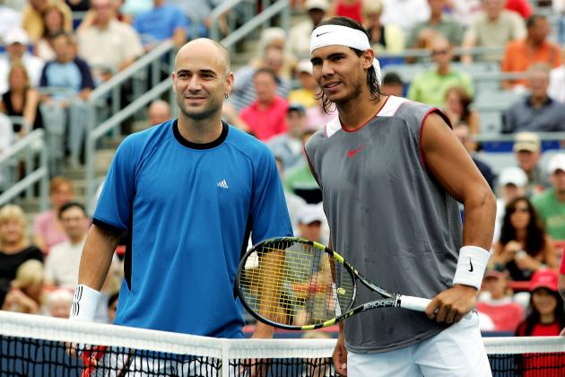 Rafael Nadal vs. Andre Agassi Was a Transition of Tennis Generations