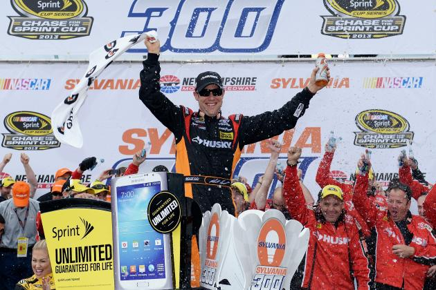 NASCAR Chase Standings 2013: Updated Rankings and Analysis After Sylvania 300