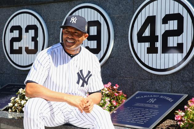 Reliving All of the Best Mariano Rivera Retirement Gifts, Tributes of 2013