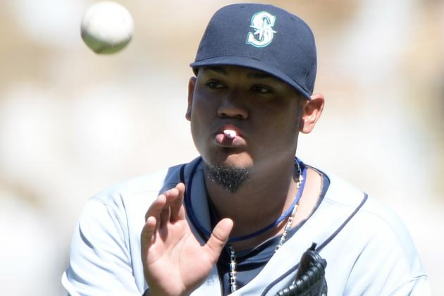 Felix Hernandez Sets Record with 10 Strikeouts in Four Innings