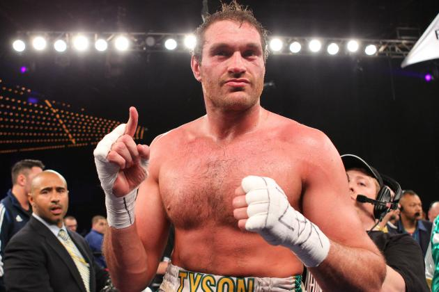 Fury: I Would Have Fought Haye with Two Broken Hands