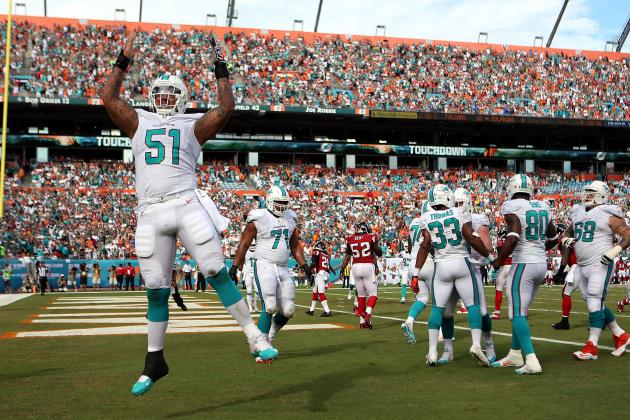 Atlanta Falcons vs. Miami Dolphins: Live Grades and Analysis for Miami