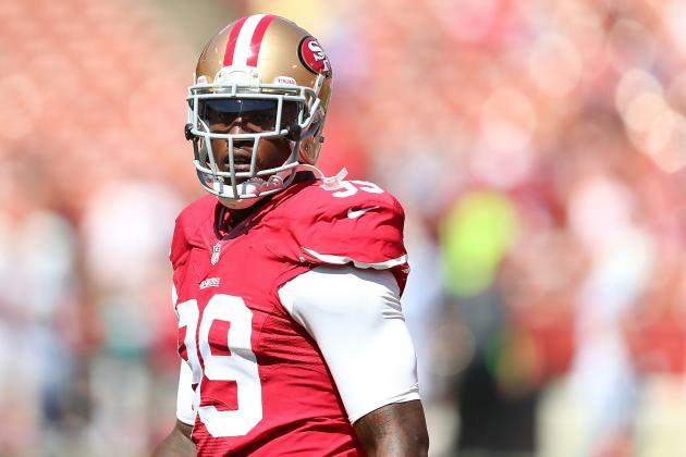 Aldon Smith's Absence Is Crushing Blow for Reeling 49ers
