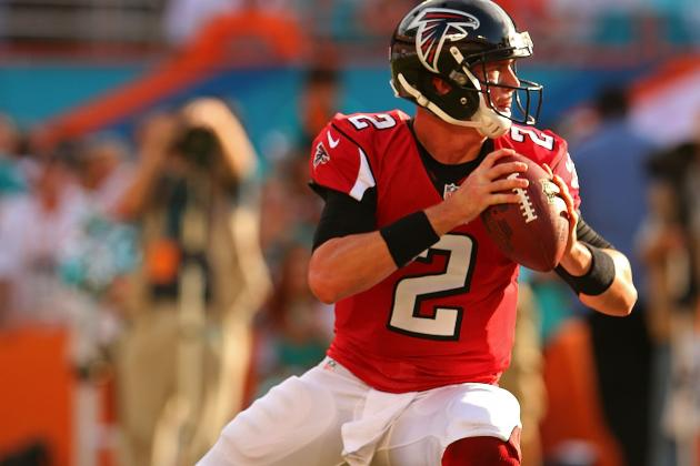 Ryan Throws for 231 Yds and 2 TDs vs. Dolphins