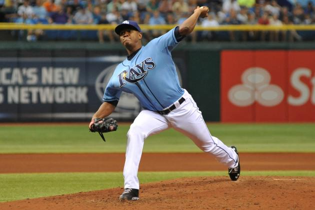Enny Romero Backs Up Bold Tweet in Tampa Bay Rays Debut