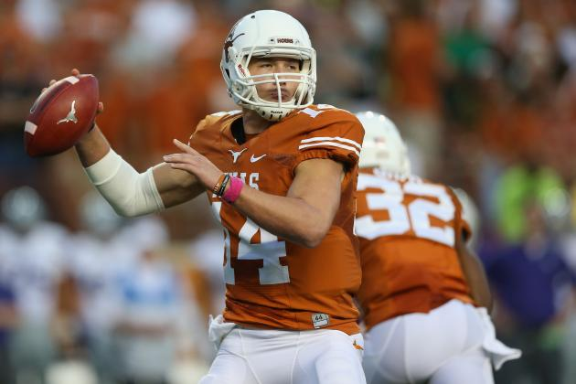 Texas Football: Is It Time to Get Tyrone Swoopes Some Reps at QB?