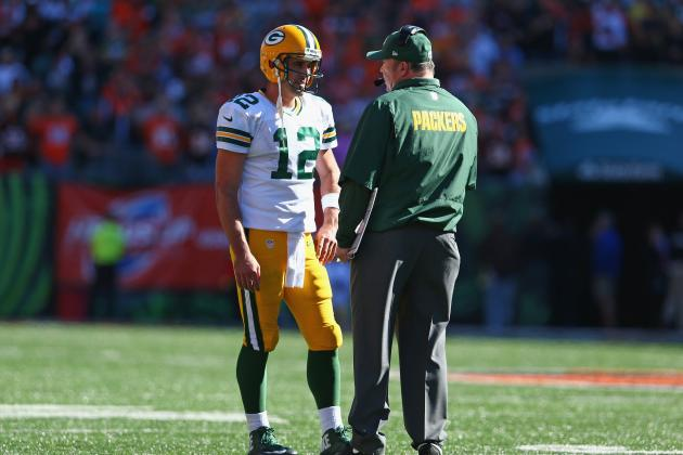 Rodgers, McCarthy Have Heated Exchange in Cincy