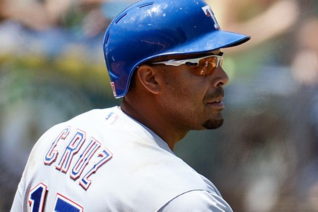 Rangers GM: 'We'd Be in Better Shape' If Cruz Was Playing