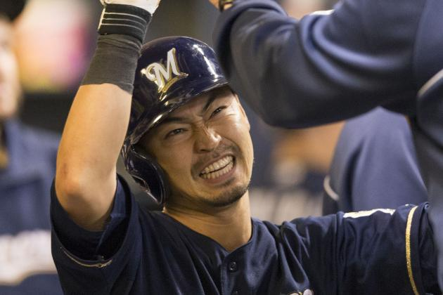 Aoki, Brewers Bury Playoff-Bound Cardinals