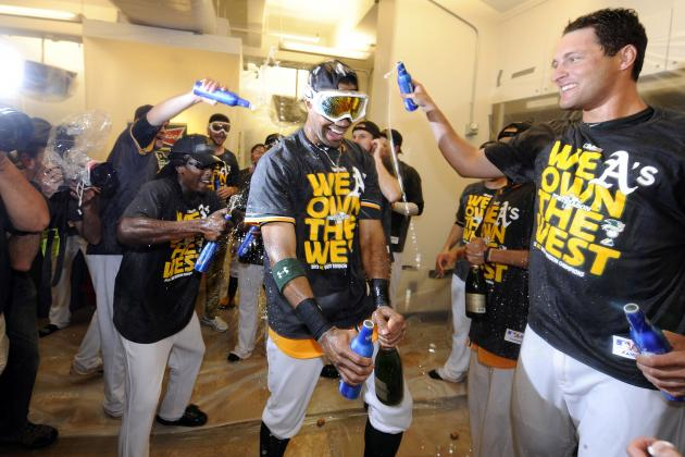 A's Clinch AL West