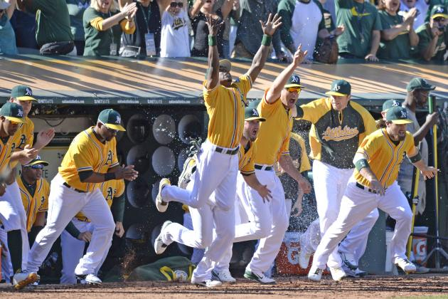 How the (2013 American League) West Was Won an Style: In April