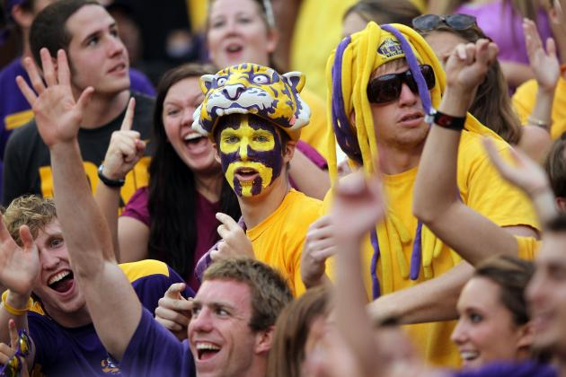 LSU Football: Fans Who Left Auburn Game Early Should Not Be Criticized