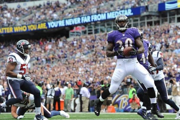 Bernard Pierce's Updated 2013 Fantasy Outlook After Week 3