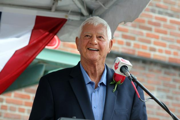 Once Bloodied, Carl Yastrzemski of Boston Red Sox Is Now Bronzed