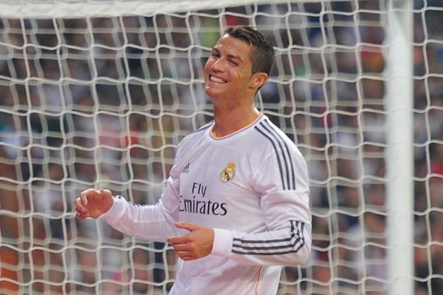GIF: Cristiano Ronaldo Scores with Spinning Backheel for Real Madrid vs. Getafe