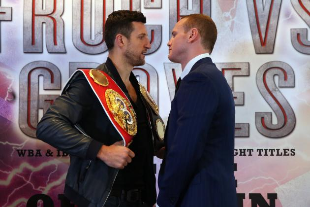 George Groves Names Paddy Fitzpatrick as New Trainer Ahead of Carl Froch Fight