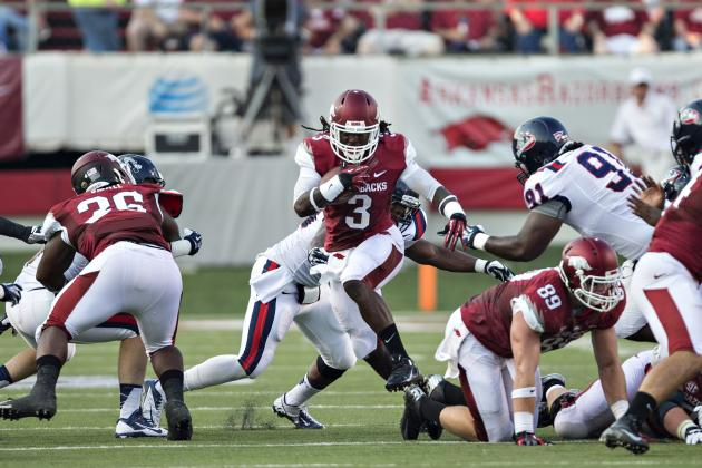 Meet Alex Collins, the Freshman RB Who Is Taking College Football by Storm