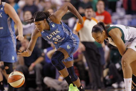 Lynx Sweep Past Seattle, into Conference Finals