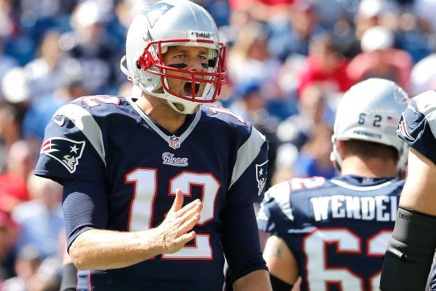 Brady Denies NFL Network Report on WRs