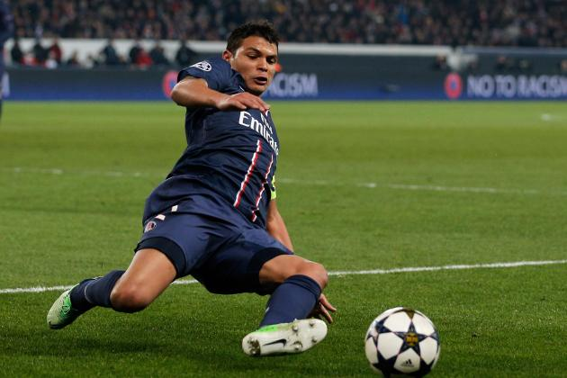 Thiago Silva Suffers Muscle Tear