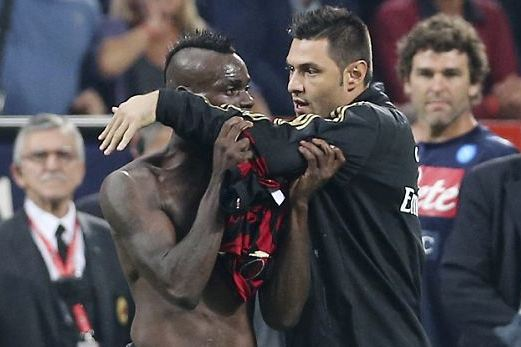 Three-Game Ban for Balotelli