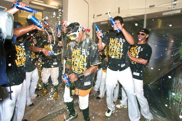 Oakland Athletics Clinch American League West for 2nd Straight Year