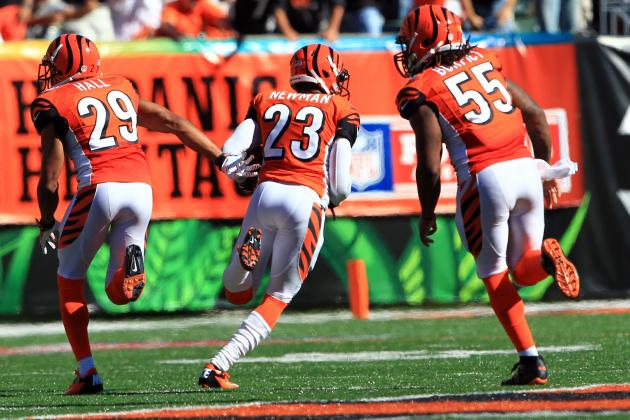 TD Makes Bengals' Terence Newman Feel Young