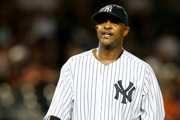 Sabathia out for Season Due to Hamstring Strain
