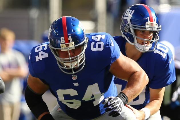 Low Point for Giants' Offensive Line?